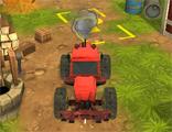 트랙터 주차