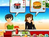 해변의 레스토랑